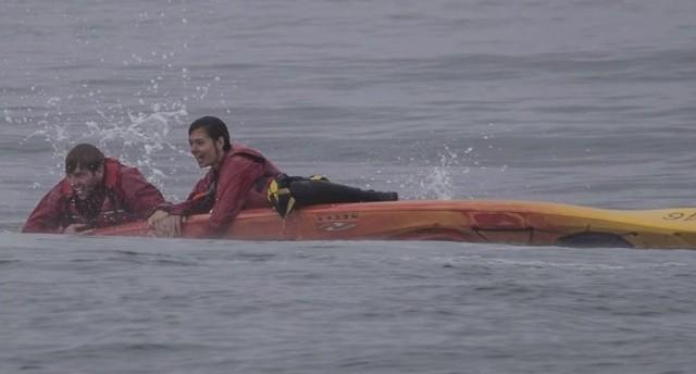 Туристы чудом остались в живых после того, как их чуть не раздавил кит (8 фото)