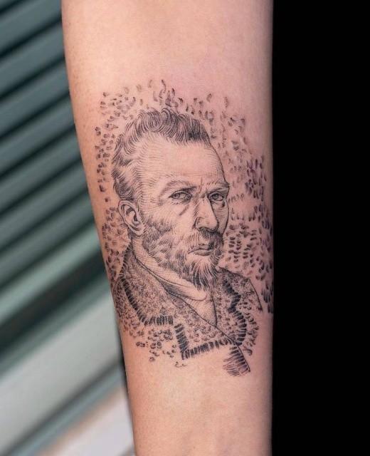Качественные татуировки от настоящих мастеров (28 фото)