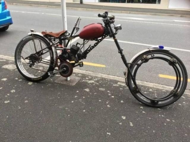 Странные и необычные велосипеды (30 фото)