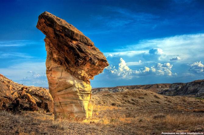Каменные грибы (16 фото)
