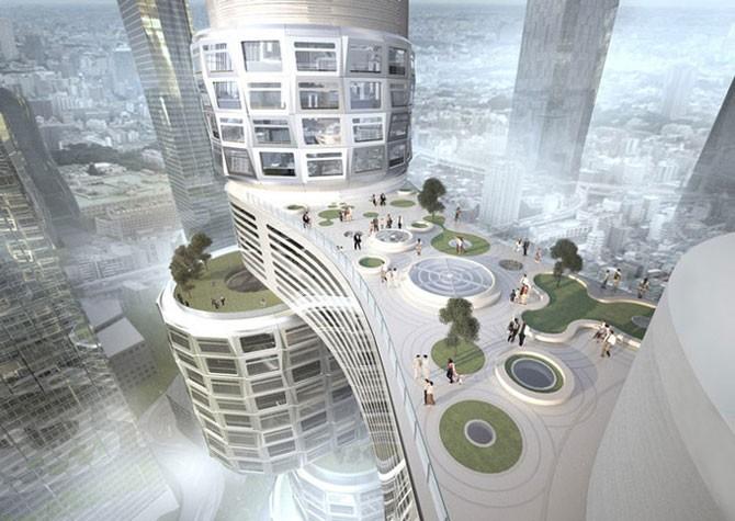 Velo Tower – необычный бизнес-центр (14 фото)