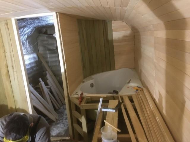 Комфортабельная баня из КУНГа своими руками (10 фото)