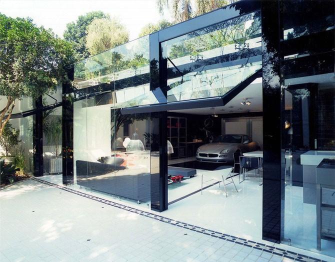 Современный гараж (17 фото)