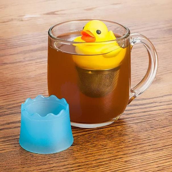 Оригинальные заварники для чая в чашке (27 фото)