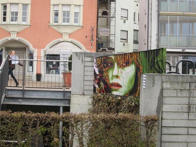 Стрит-арт на перилах (20 фото)