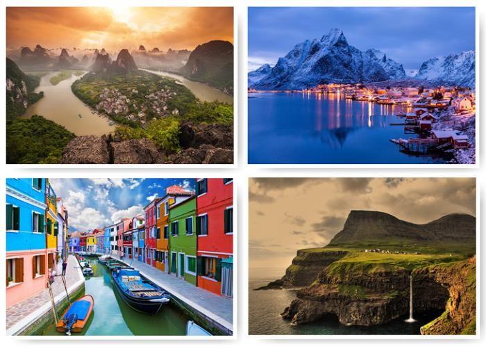 Крошечные города мира (25 фото)