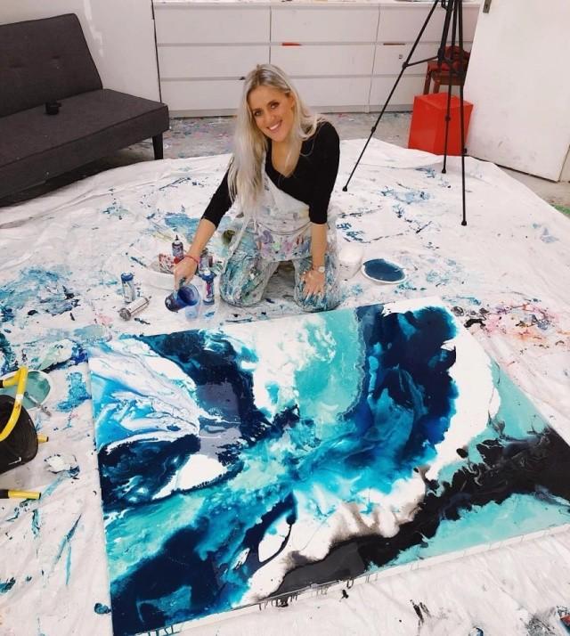 Уличная художница Софи Фи, запустившая тренд