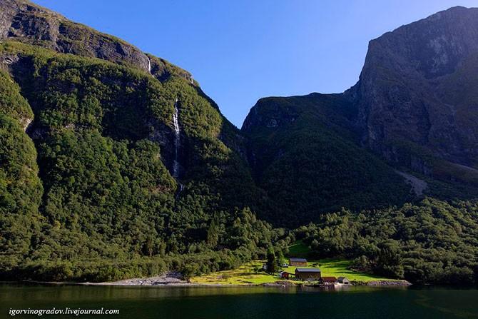 Норвежские фьорды (34 фото)