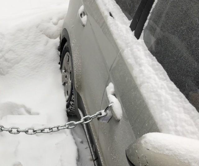"""Новый автомобильный """"развод"""" в Самаре (4 фото)"""