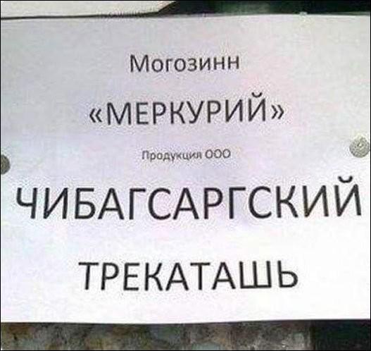 Объявления и надписи (17 фото)