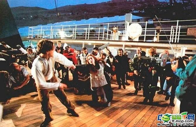 Как снимали «Титаник» – редкие фото со съёмок (52 фото)