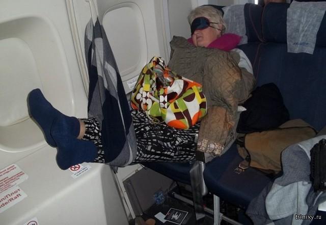 """""""Плацкартный самолет"""" или всё для вашего комфорта (2 фото)"""