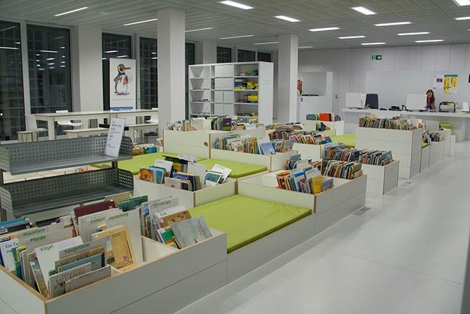 Городская библиотека Штуттгарта (15 фото)