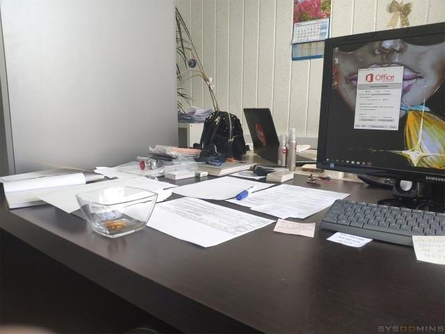 Когда вызвали в бухгалтерию починить компьютер (3 фото)