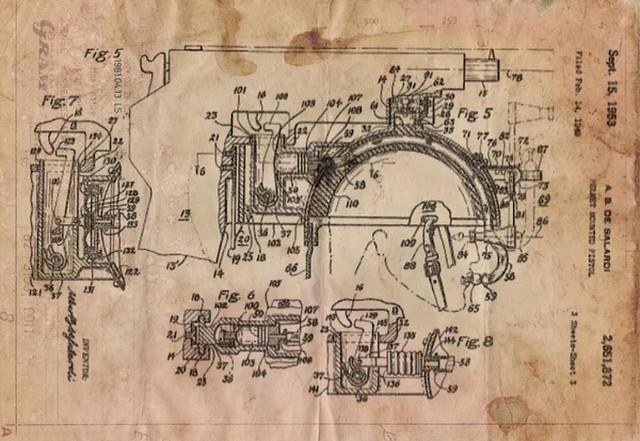 """""""Стреляющий шлем"""" от изобретателя Альберта Прэтта (4 фото)"""