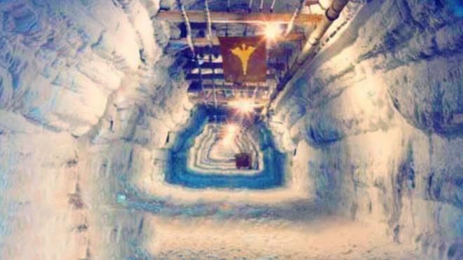 Ядерный город, который построили во льдах (2 фото)