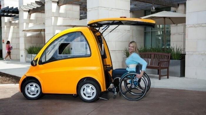 Оригинальные и странные транспортные средства (8 фото)