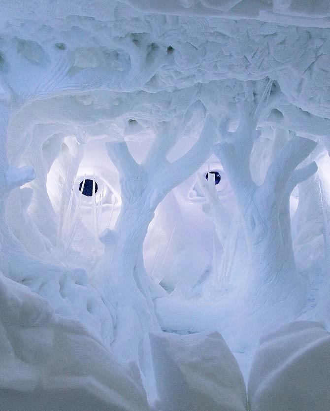 ICEHOTEL — ледяной отель на севере Швеции (13 фото)