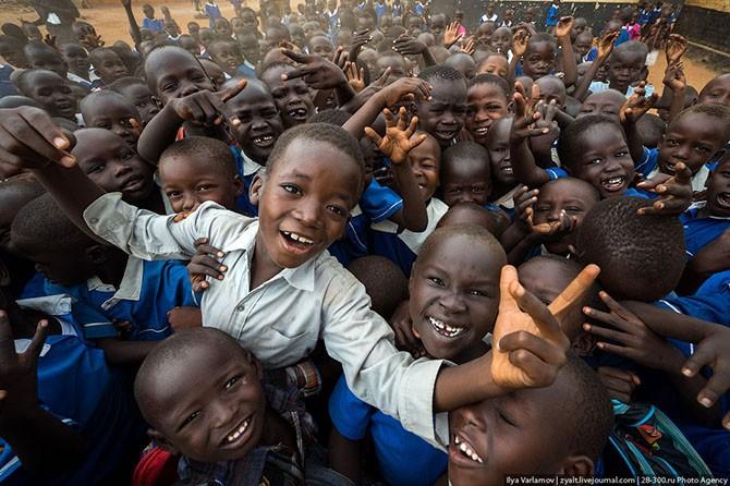 Самое опасное место в Южном Судане (25 фото)