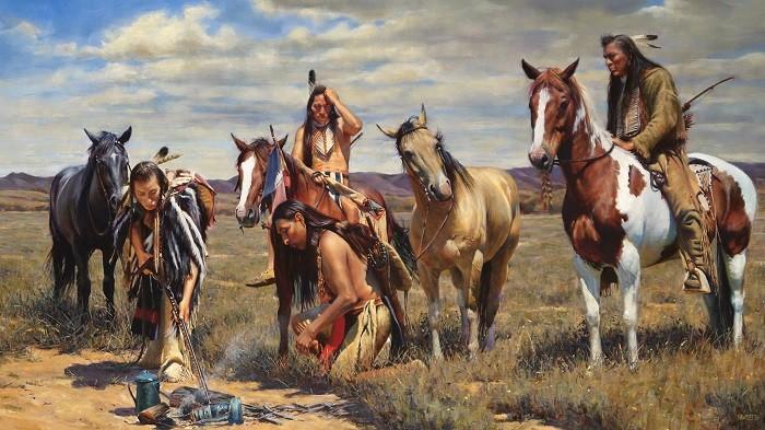 Мифы и правда об американских индейцах (6 фото)