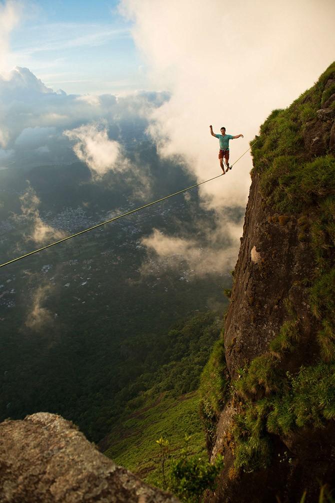 Слэклайн над Рио (13 фото)