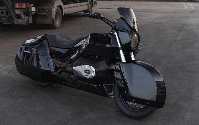 Новое творение концерна Калашникова - тяжелый мотоцикл (9 фото)