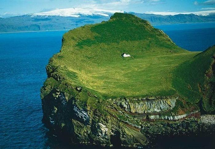 Дом для тех, кто любит одиночество (5 фото)