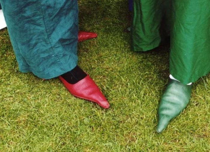Чудики в сногсшибательной обуви (13 фото)