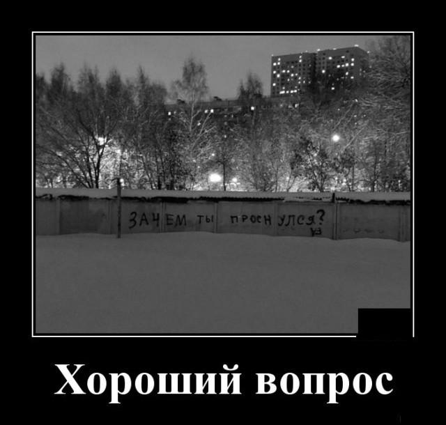 Демотиваторы (30 фото) 14.03.2019