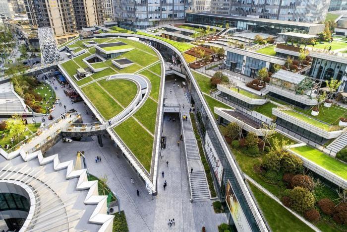 Городская ферма в центре Шанхая (26 фото)