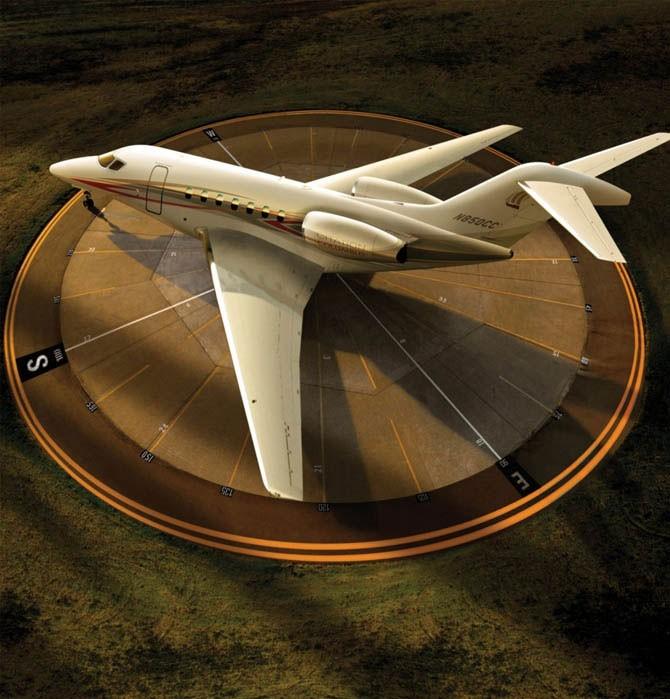 Самолёт класса ЛЮКС (9 фото)