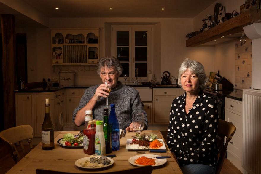 Как ужинают среднестатистические американские семьи (37 фото)