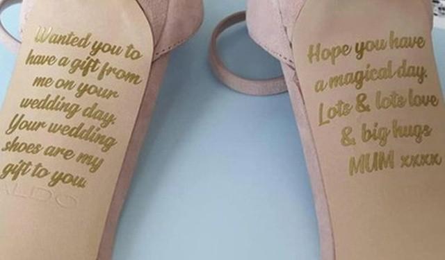 Невеста получила свадебный подарок от своей умершей матери (3 фото)