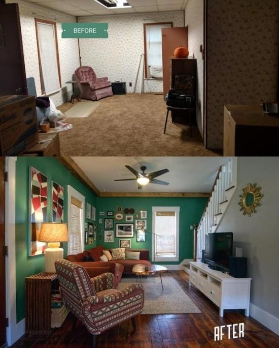 """Интересные фотографии в стиле """"до и после"""" (18 фото)"""
