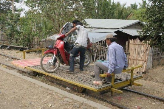 Колхозный транспорт (14 фото)