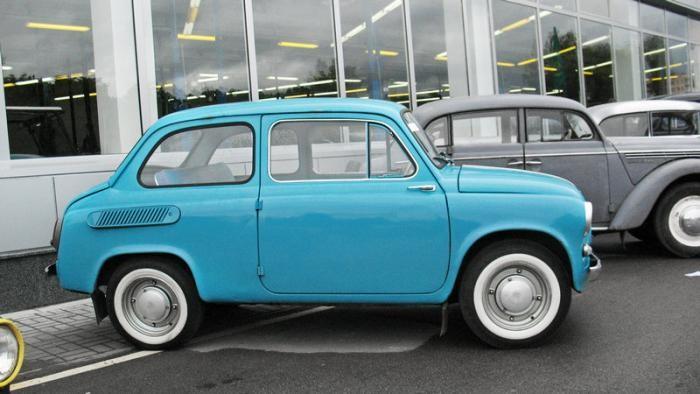 Любопытное о самом маленьком советском автомобиле (7 фото)
