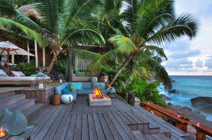 Прогулка по частному острову на Сейшелах (21 фото)