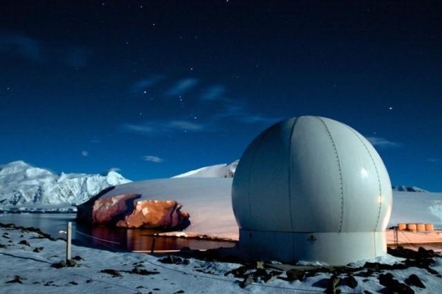 Исследователи в Антарктиде питаются как элитные рестораны (6 фото)