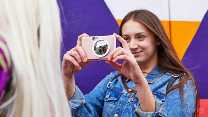 Canon выпустила продвинутые аналоги Polaroid (16 фото)