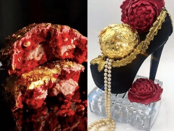 Как выглядит самое дорогое пирожное в мире (3 фото)