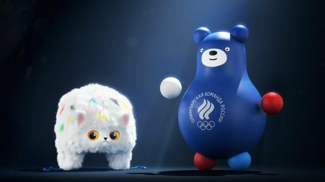 Кот-ушанка и медведь-неваляшка - новые талисманы России (4 фото)