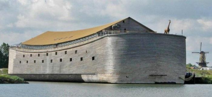 Точную копию Ноева ковчега не может доставить в Израиль (10 фото)