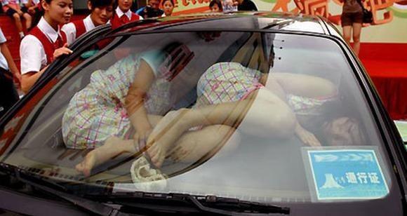 Веселые соревнования в Китае (5 фото)