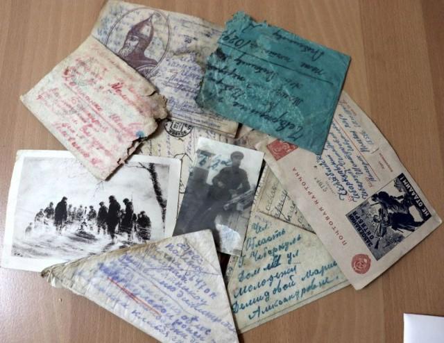 В Чебаркуле нашли пачку фронтовых писем с 1943 (5 фото)
