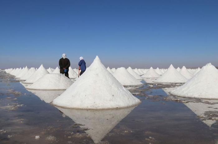 Места, где добывают соль (21 фото)