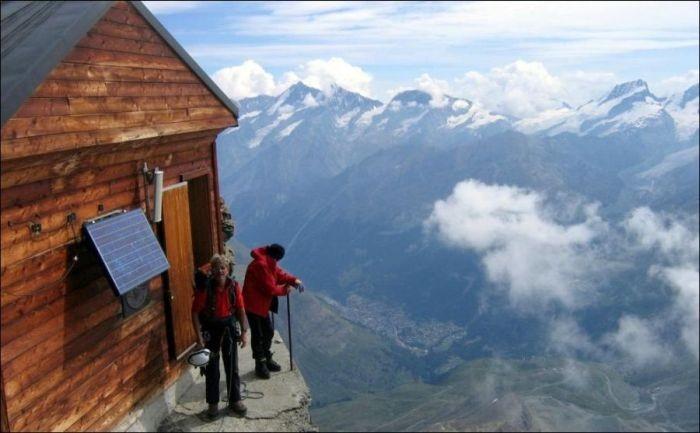 Домик в горах (5 фото)