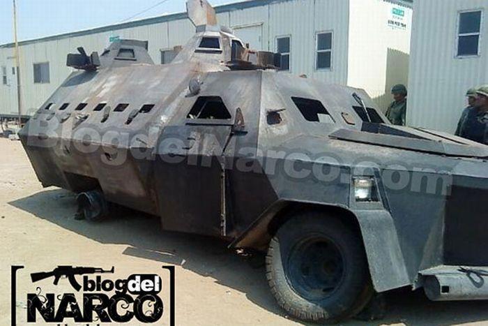 El Monstruo - бронемобиль мексиканского наркобарона (8 фото)