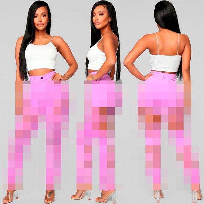 Модная новинка - изодранные джинсы для девушек (14 фото)