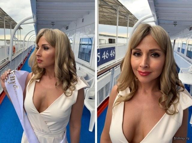 Новые засветы 09.05.2019: Ольга Попова стала самой красивой замужней женщиной России (6 фото)