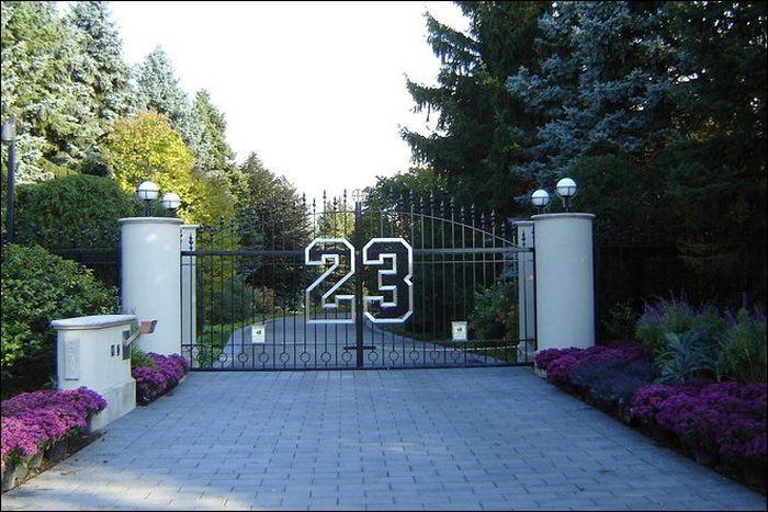 Дом баскетболиста Майкла Джордана (8 фото)